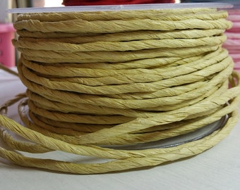 5m Twisted Paper Cord/Ribbon 3-100mm ~ Natural/Kraft ~ *Gifts*Decorations*