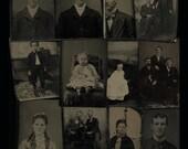 Lot of 12 Tintypes