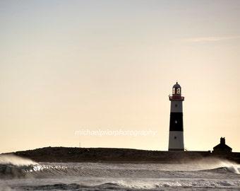 the lighthouse on Inisheer island