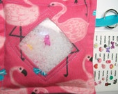 I Spy Bag Flamingos Girls themed contents seek and find, busy bag, travel toy, occupational therapy