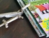 Brass Alligator