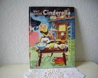 Walt Disney's Cinderella, Big Golden Book, 1982