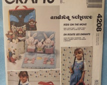 McCalls  4208 doll house and bears and bunnies