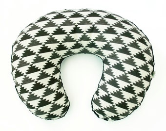 Boppy Cover - Mirrored in  Carbon - Personalization Available