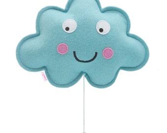 Cloud musix box light blue
