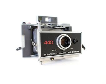 Polaroid Camera 440 Land Camera - Film Tested Working