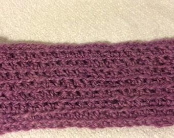Headband/Ear Warmer - Alpaca - Purple - Adult