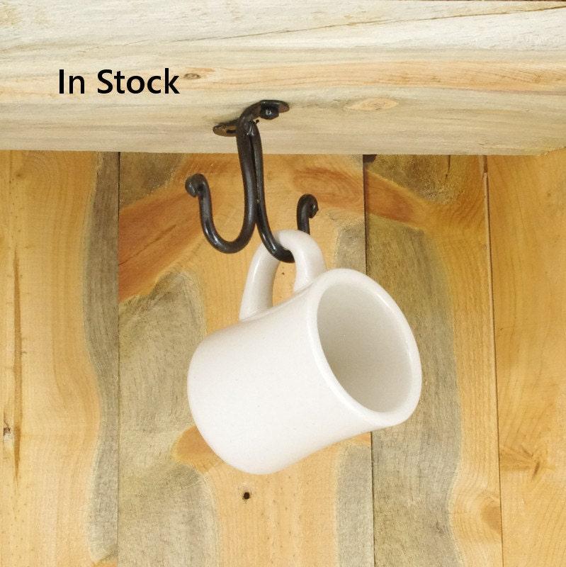 small ceiling or under cabinet hook cup hook purse hook. Black Bedroom Furniture Sets. Home Design Ideas
