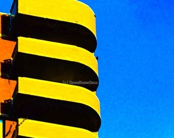 Outsider Art Photo Memphis Balconies West Greenwich Village NYC Giclee Print