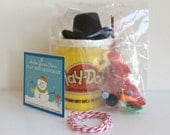 Snowman Kit - Playdoh Snowman Kit - Preschool Gift - Playdough Snowman - Kids Stocking Stuffer - Snowman Tag - DIY Snowman - Christmas Gift