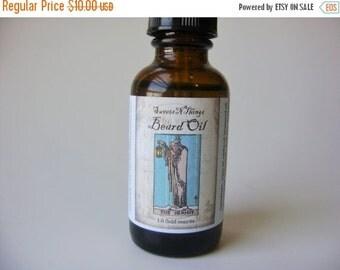 Beard Oil Conditioning Oil for Face and Beard, Sandalwood & Blood Orange Men's Face Oil