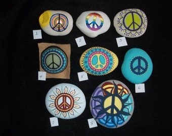 The Peace rocks! 8.00 each!