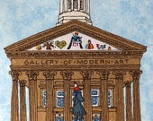 Glasgow Gallery of Modern Art (GOMA) Greetings Card