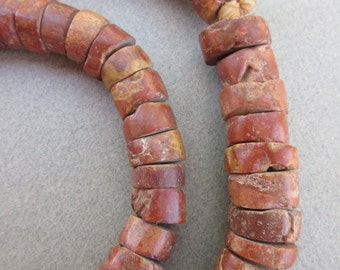 African Pipestone Beads