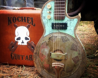 Electric resonator Gutiar, Blues Guitar, Slide Guitar