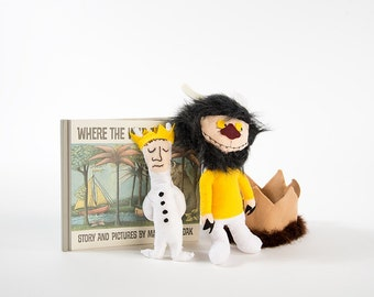 SINGLE Where The Wild Things Are Prop Doll
