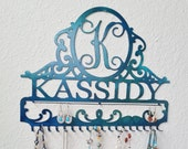Personalized Jewelry Holder Display Organizer and Storage