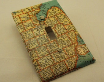 Items Similar To Copper Map Art Of Michigan Copper On
