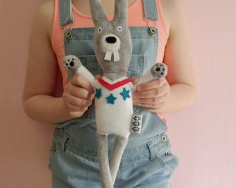 NEW!!! Rabbit child's toy/plush