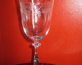 Genuine Bohemia Crystal Water Glasses Made In S