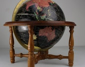 Vintage Crams Terrestrial 10.5 inch Table Top World Globe