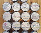4 oz. Fall and Winter Scented Soy Candles