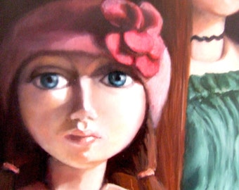 Oil Painting, Art dolls