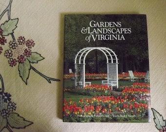 Virginia Garden Book, Gardens and Landscapes of Virginia, Garden Club of Virginia