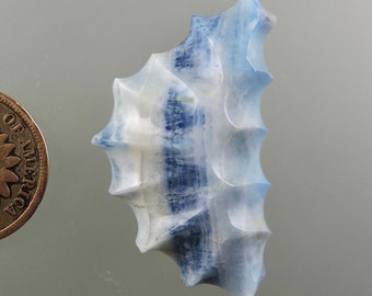 Turkish Blue Lace Cabochon from 49erMinerals