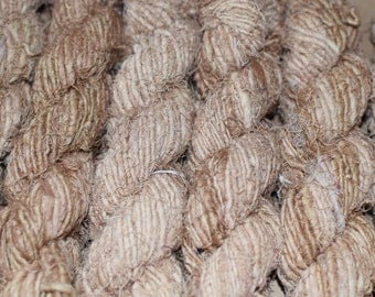 Recycled Linen Yarn - Camel