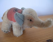 1950's Vintage Steiff Elephant, Germany