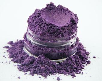 FCC Aldabella 141 Deep Purple Eye Shadow All Natural Loose Pigment Mineral EyeShadow Eyeliner Makeup