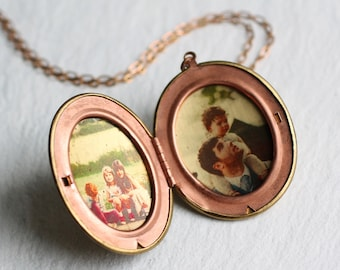 Personalized Locket ... Personalised Gift New Mom Girlfriend Photo Photograph