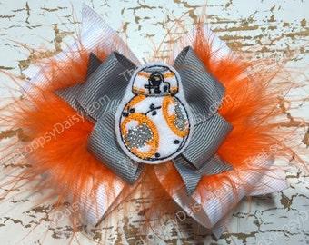 Star Wars Bow, Star Wars Birthday, BB 8, BB8 Bow, Star Wars Baby, R2D2 Costume, Darth Vader Dress, Star Wars,BB8 shirt, BB8 Star Wars, Droid