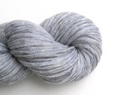 Merino Nylon Chainette Recycled Yarn, Aran to Bulky Weight, Light Gray