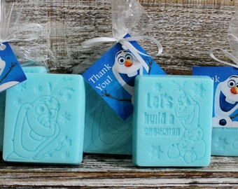 10 OLAF/FROZEN Soap Party Favors