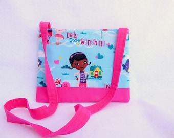 Doc Mcstuffins Kids Crossbody Bag // Disney Crossbody Purse // Disney Princess //