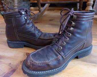 Men's Cole Haan Leather Lace Up Work/Play Boots size 8.5