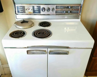 Vintage Fridgedaire Imperial Double Oven with adjustable burner for inverted boiling pot - Local Pick Up in Central Ohio