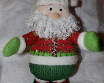 Handmade 18 inch stuffed Santa Christmas decoration - Santa1