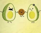 Avocado Family! Toddler Shirt/Onesie