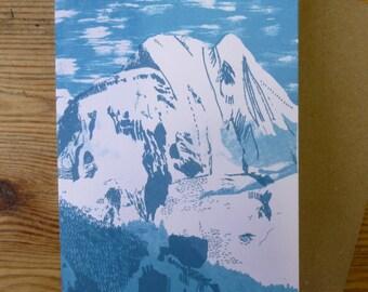 Mountain Card