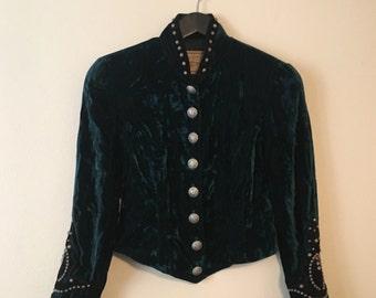 Double D Ranchwear Velvet Jacket