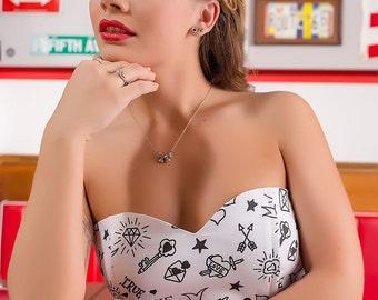 Rockabilly Tattoo wedding dress By TiCCi Rockabilly clothing