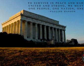 National Monument Inspirational Quote