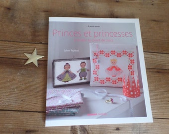 FRENCH book   French Cross-stitch book   Princes et princesses