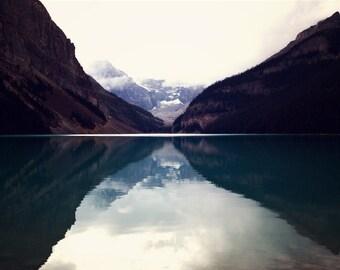 Rocky Mountains, Banff, Lake Louise, Landscape, Canadian Rockies, Mountain Photography, Lake, Large Wall Art, Lake Photo, Large Wall Art