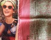 Vintage 1970s Echo Silk Scarf - Matisse Vibe