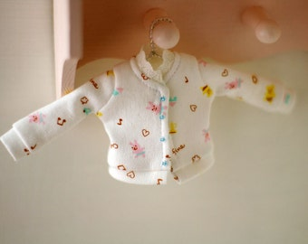 Cute jacket  for Blythe, Licca, 1/6 22cm doll