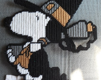 Pilgrim Snoopy Plastic Canvas Pattern